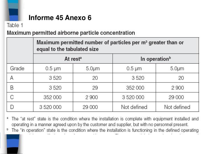 Informe 45 Anexo 6