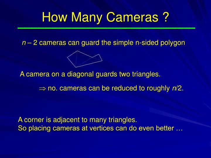 How Many Cameras ?