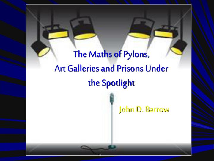 The Maths of Pylons