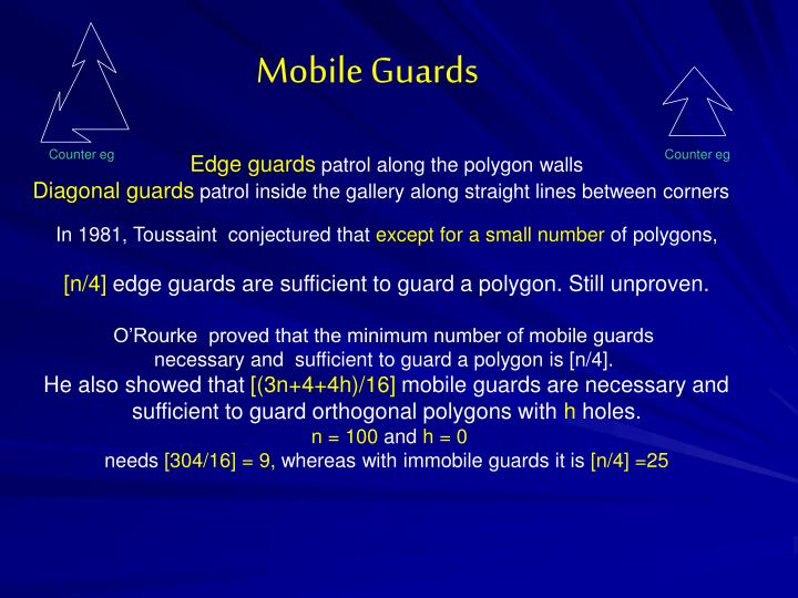 Mobile Guards