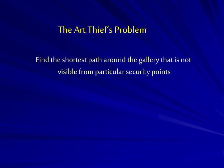 The Art Thief's Problem