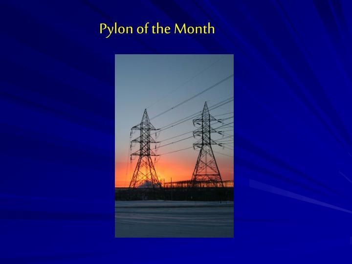 Pylon of the Month