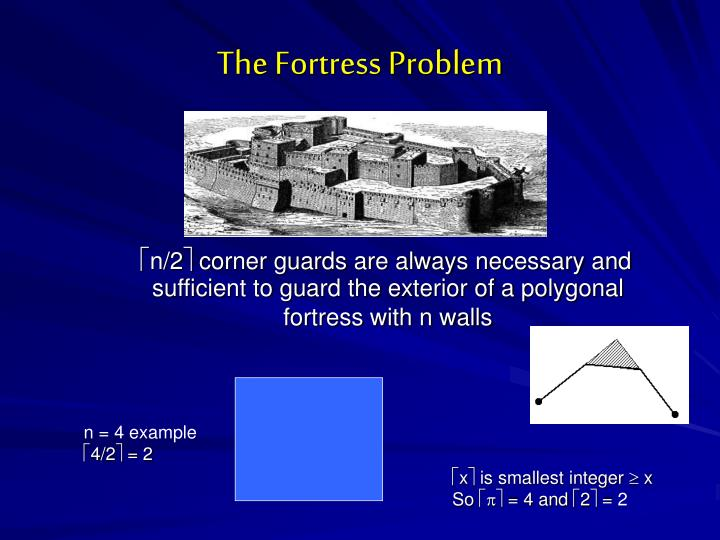 The Fortress Problem