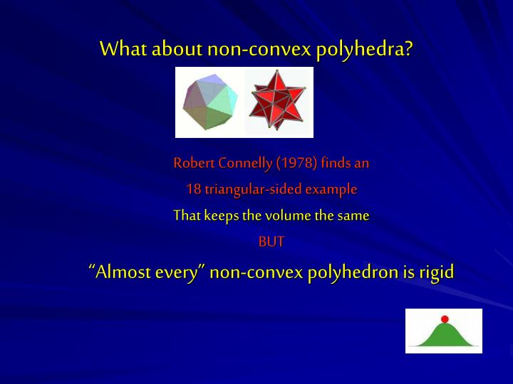 What about non-convex polyhedra?