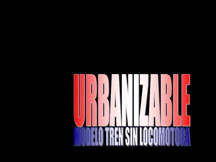 URBANIZABLE