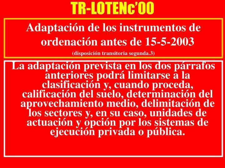 TR-LOTENc'00