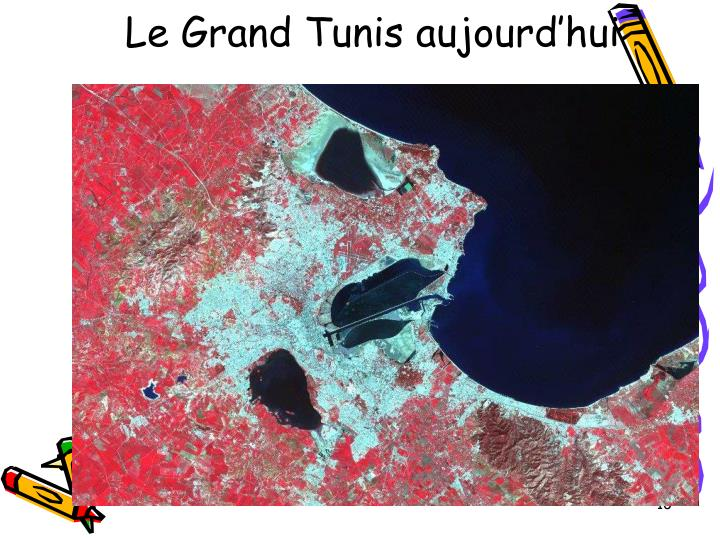 Le Grand Tunis aujourd'hui