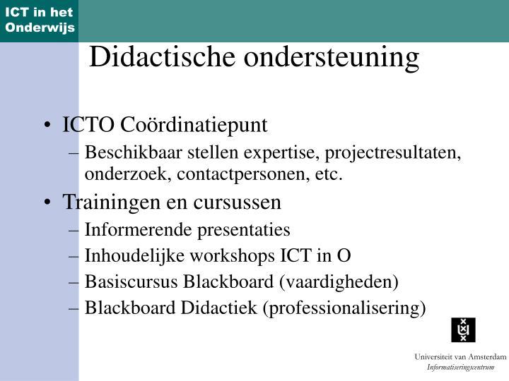 ICTO Coördinatiepunt