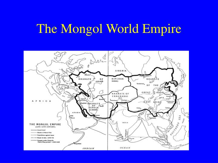 The mongol world empire