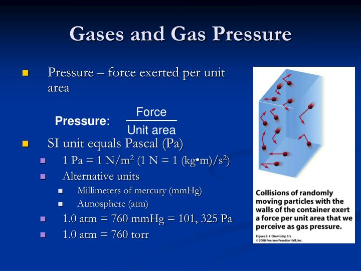 Gases and gas pressure1