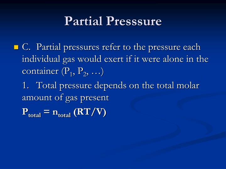 Partial Presssure