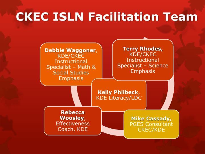 CKEC ISLN Facilitation Team