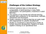 challenges of the listbon strategy