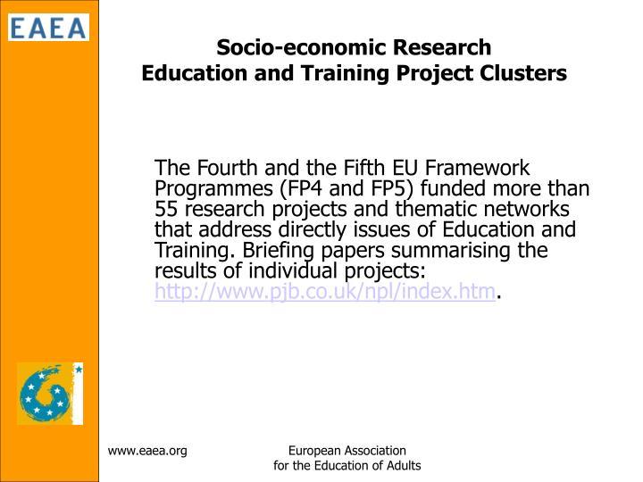 Socio-economic Research