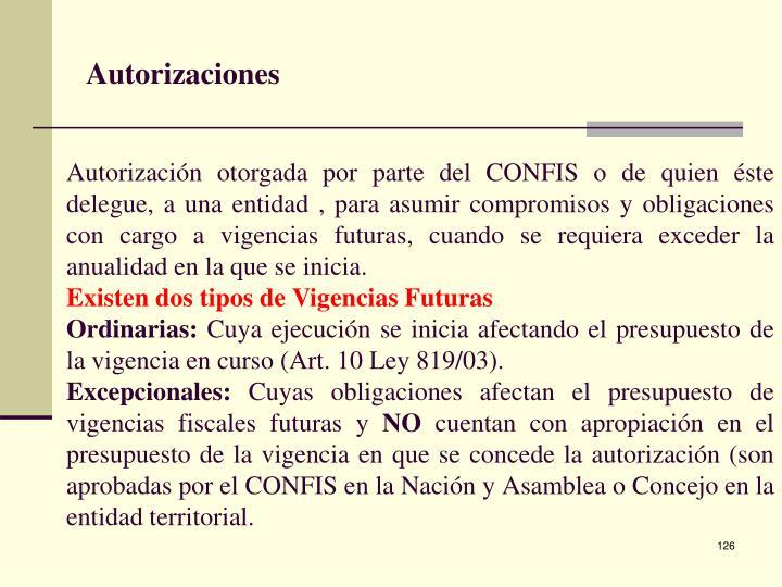 Autorizaciones