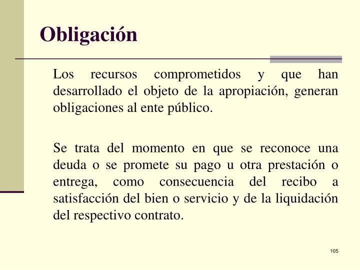Obligación