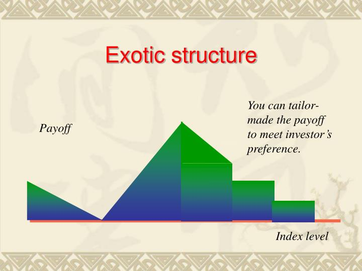 Exotic structure
