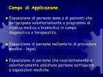 campo di applicazione1