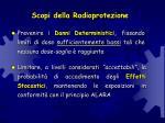 scopi della radioprotezione