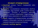 strumenti di radioprotezione
