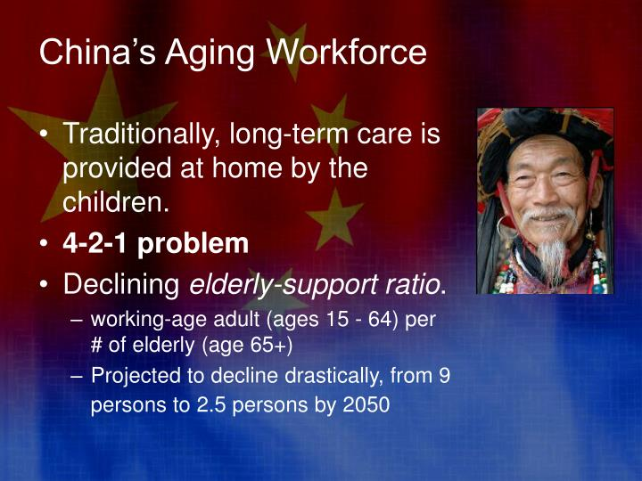 China's Aging Workforce
