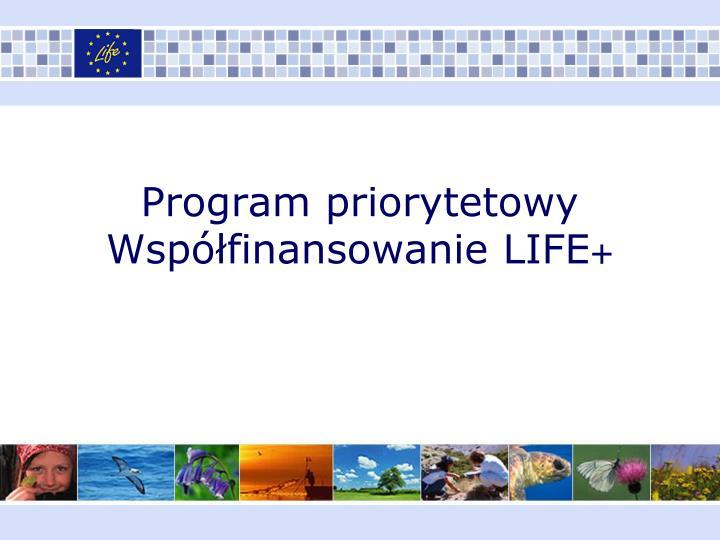Program priorytetowy