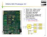20ghz adc prototype 2