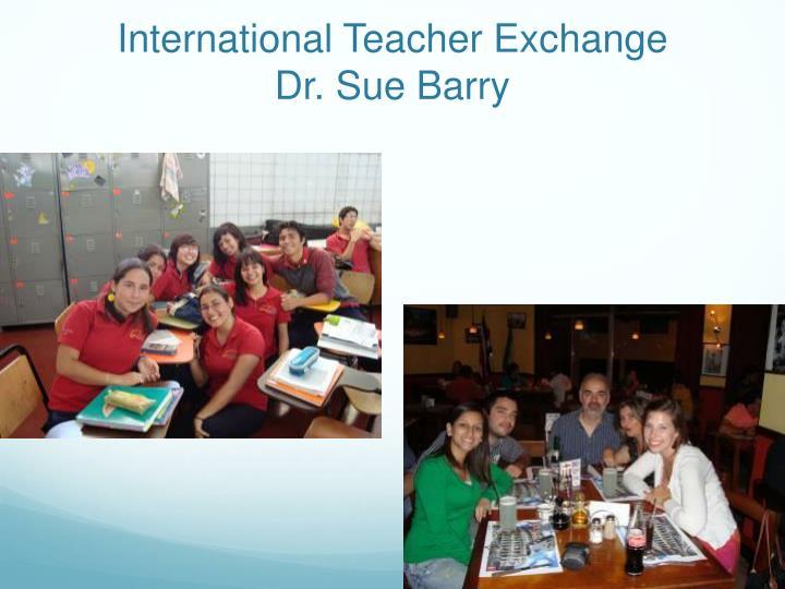 International Teacher Exchange