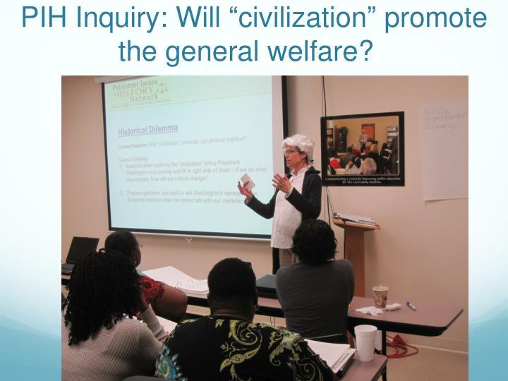 PIH Inquiry: Will