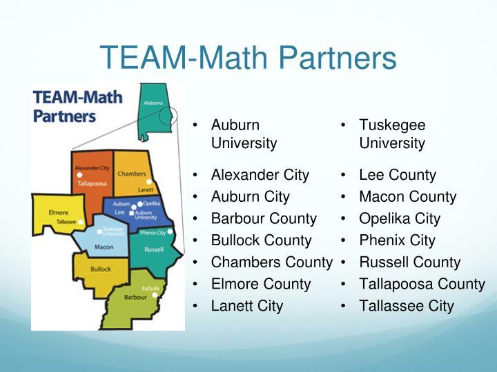 TEAM-Math Partners