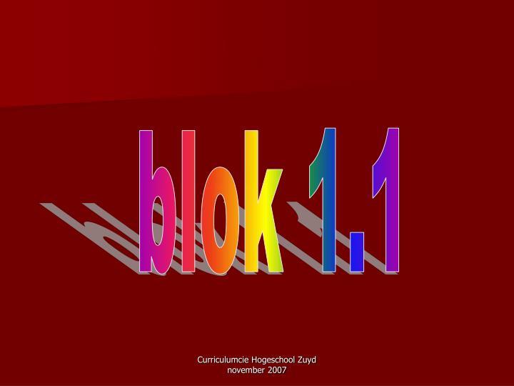 blok 1.1