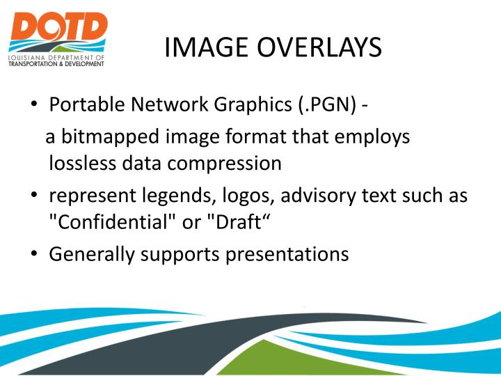IMAGE OVERLAYS