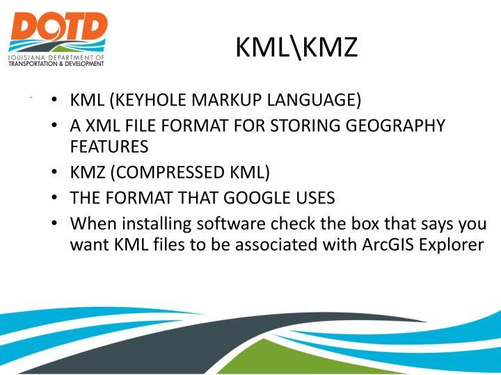 KML (KEYHOLE MARKUP LANGUAGE)