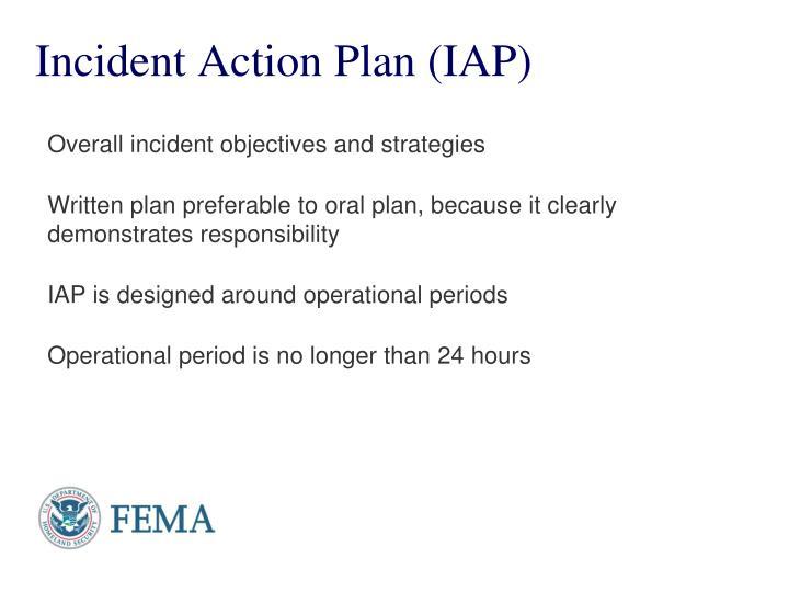 Incident Action Plan (IAP)