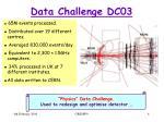 data challenge dc03