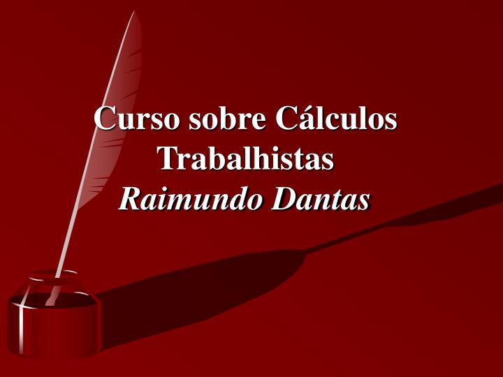 Curso sobre Cálculos