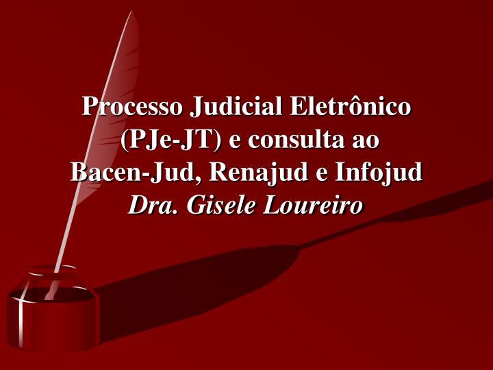 Processo Judicial Eletrônico