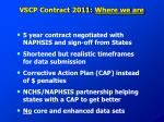 vscp contract 2011 where we are