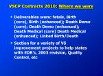 vscp contracts 2010 where we were