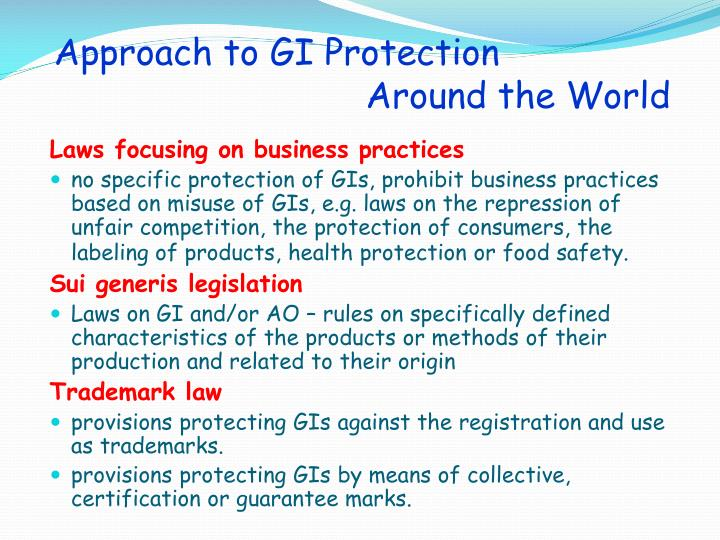 Approach to GI Protection