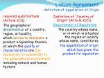 lisbon agreement definition of appellation of origin