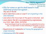 the trips agreement standards of protection article 23