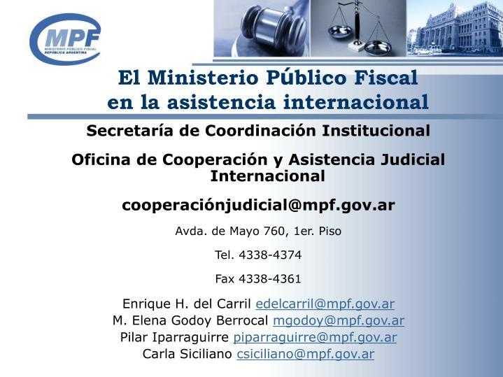 El Ministerio P