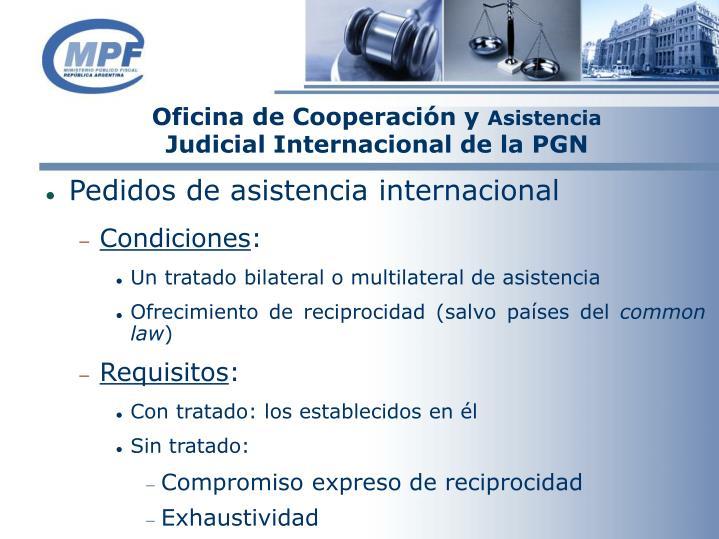 Oficina de Cooperación y