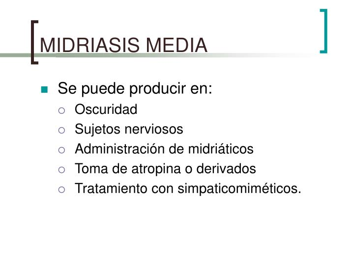 MIDRIASIS MEDIA