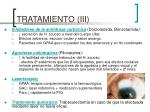 tratamiento iii