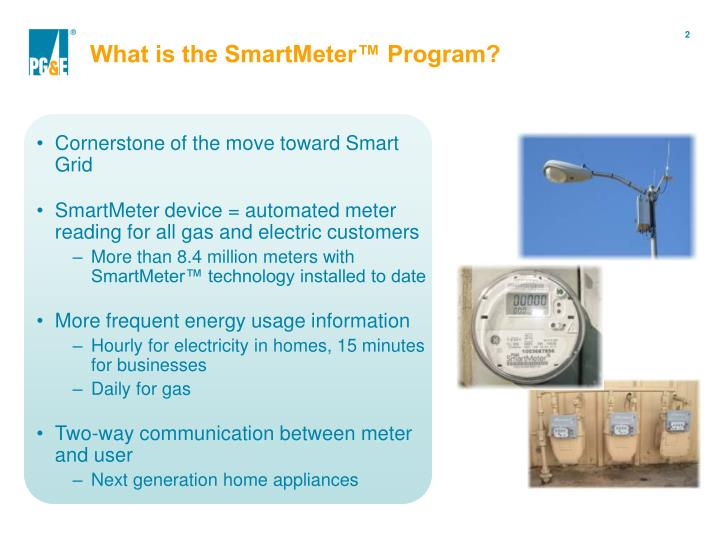 What is the smartmeter program