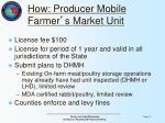 how producer mobile farmer s market unit1