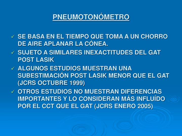 PNEUMOTONÓMETRO