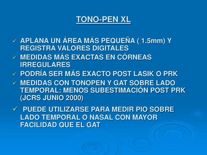 TONO-PEN XL